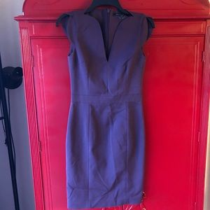 French Connection Purple Chic Dress